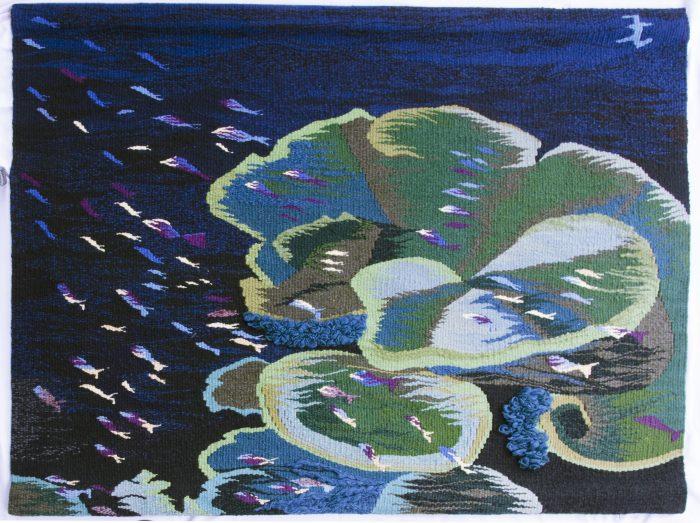 Marine Life Tapestry