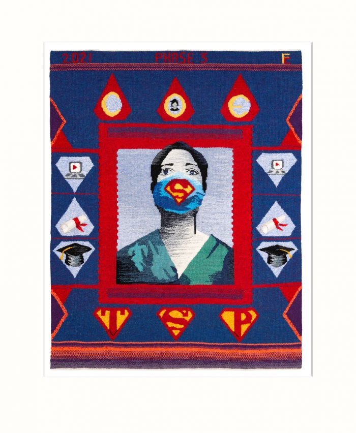 Phase 3 Tapestry by France Crowe