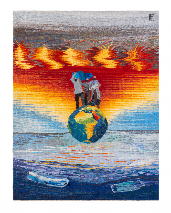 Climate refugees by Frances Crowe